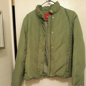 Last chance Lght green puffer jacket